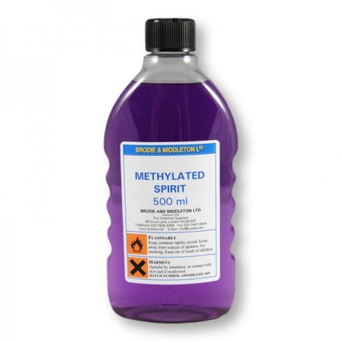 methylated spirit (alcohol) used for on site determination of water content of soil