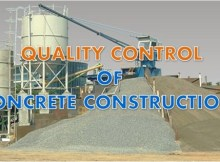 Quality control of concrete construction