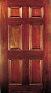 framed and paneled door