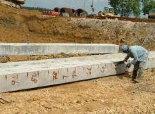 precast concrete piles
