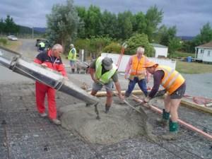 concrete placing precautions