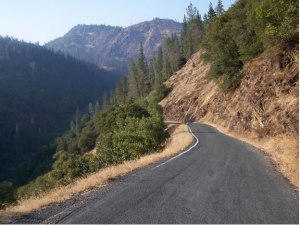Factors affecting selection of hill road alignment