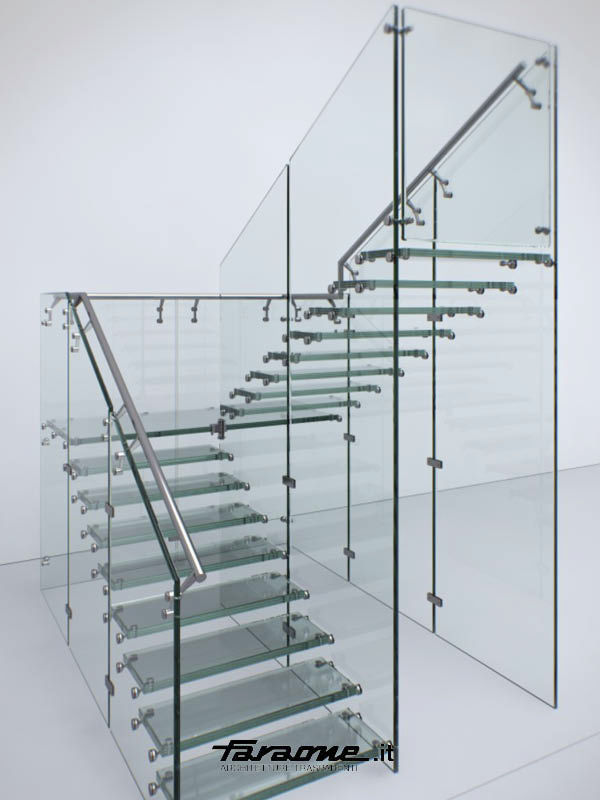 Front Elevation Of Dog Legged Staircase : Different types of stairs commonly designed for