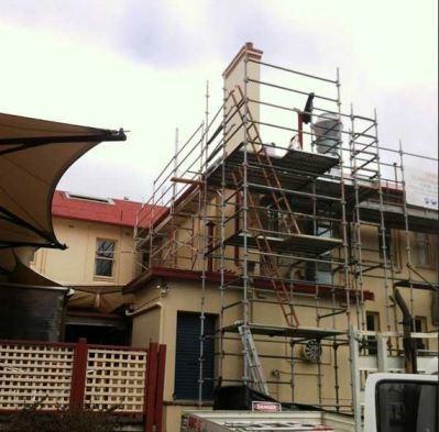 Double scaffolding