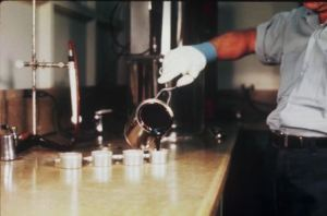 Pic-2 Viscosity test of bitumen