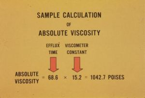 Pic-6 Viscosity test of bitumen
