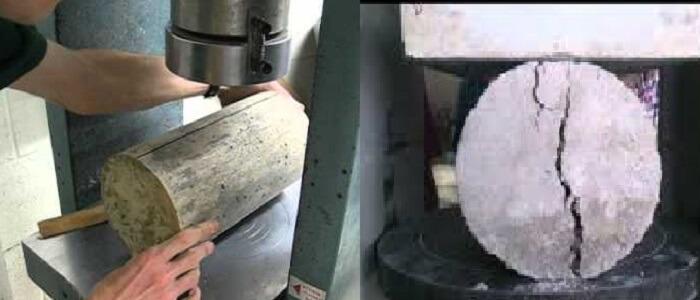 Cylinder Splitting Tension Test
