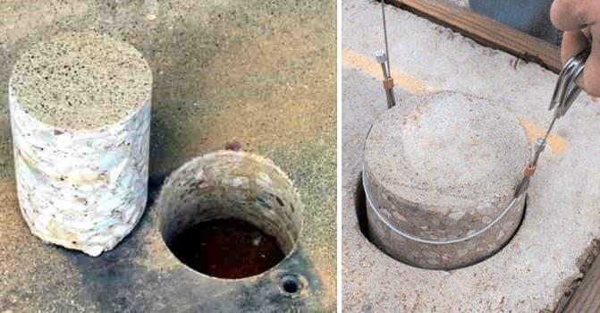 core test of concrete