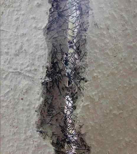 Fibres added to Concrete