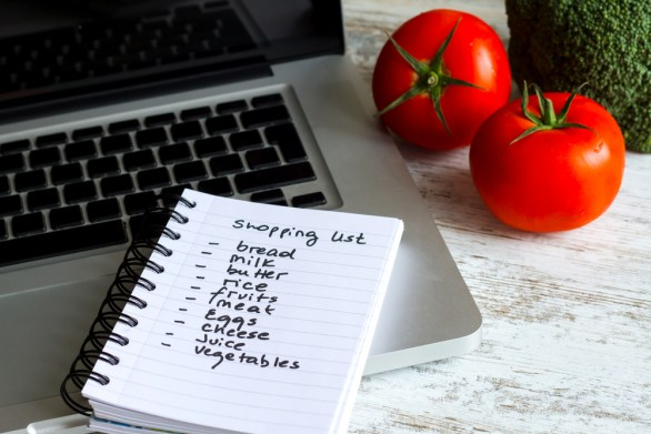 Image result for shopping list photography