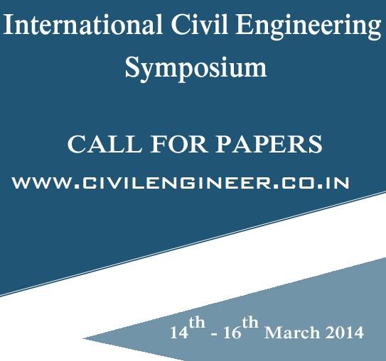 International Civil Engineering Symposium in Vellore Institute of Technology