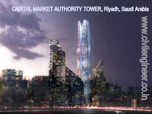 CAPITAL MARKET AUTHORITY TOWER, Riyadh, Saudi Arabia