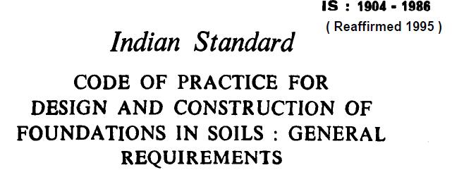 Indian Standard Codes Civil Engineering Pdf
