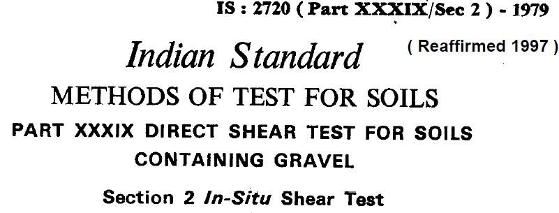 IS 2720 (PART XXX1X SEC 2) 1979 INDIAN STANDARD METHODS IF