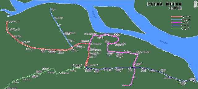 Patna_metro_map_route