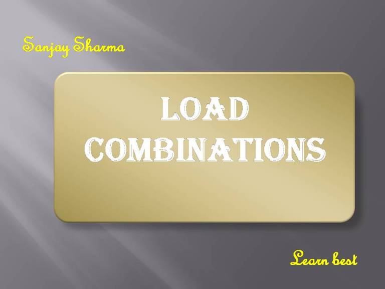 Read more about the article Load combinations