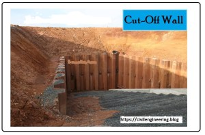 Cut-off walls
