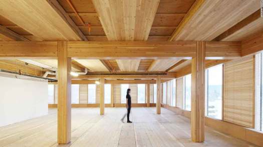 cross laminated timber as green building material