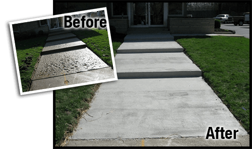 how to resurface damaged concrete