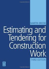 estimating-tendering-for-contruction-work-martin-brook-paperback-cover-art