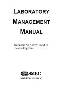 Laboratory Management Manual