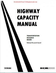 Highway Capacity Manual 2000