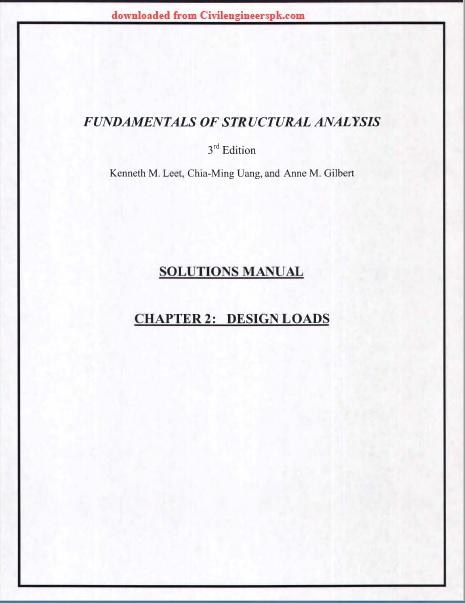 Analysis pdf structural basic