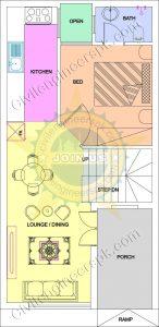 New 3 Marla House Design