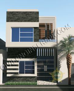 New 3 Marla House Design