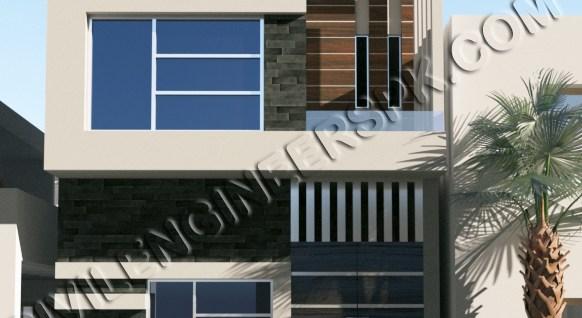 New 3 Marla House Design for Mr. Abrar