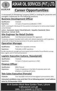 Sunday Jobs Civilengineerspk 19-11-2018