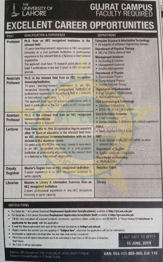 Sunday Jobs Civilengineerspk 26-5-2019