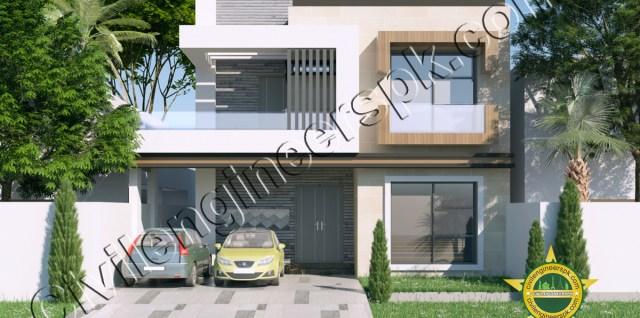 10 Marla Beautiful House Design