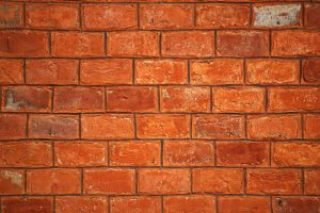 bricks used as construction materials for building