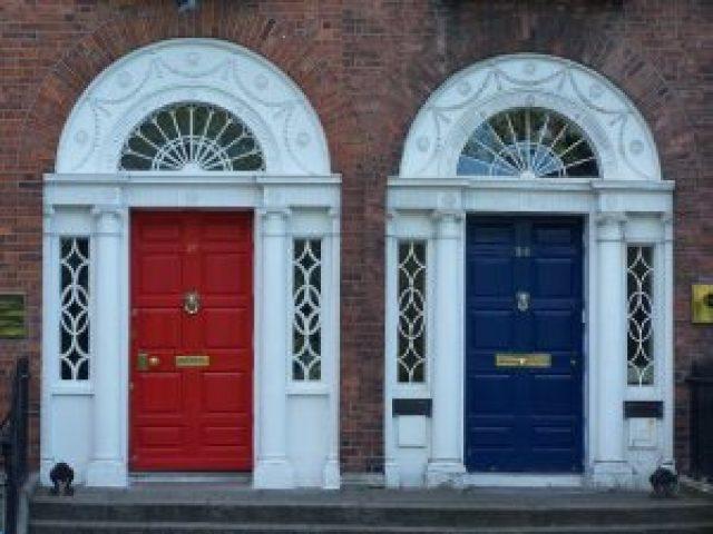 modern double door design