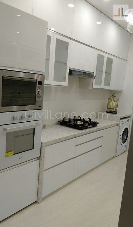 Kitchen tall unit otg microwave oven