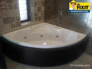 Bathroom Waterproofing Cost Dr Fixit