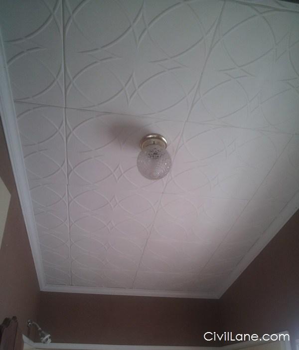 Armstrong bathroom false ceiling material alternative
