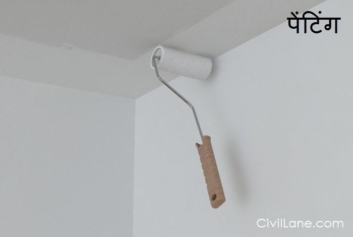 Bathroom ceiling painting material alternative hindi