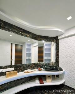 Gypsum bathroom false ceiling material alternative