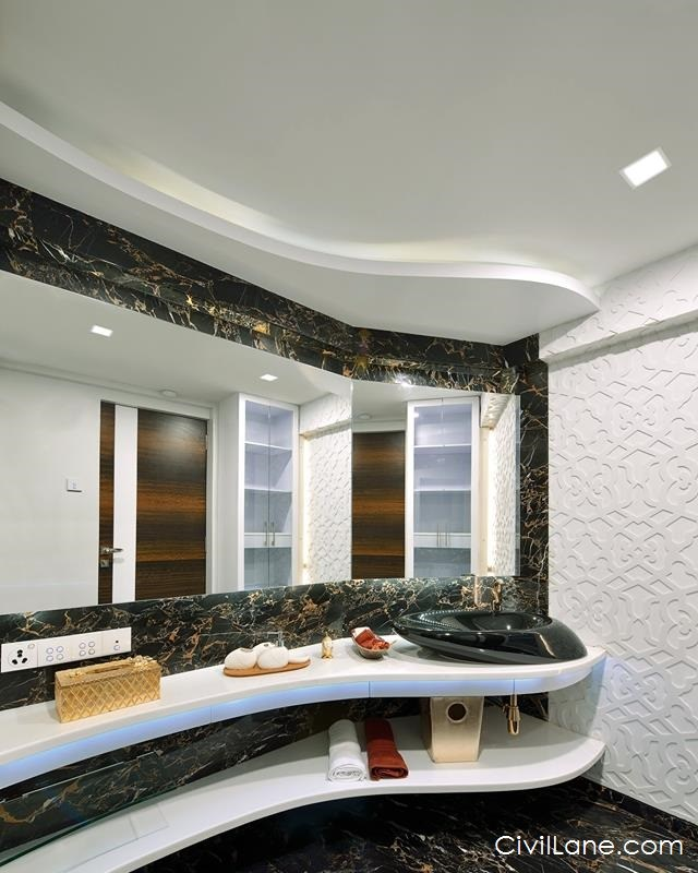 Bathroom False Ceiling Alternative Materials And Costing
