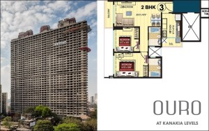 Kanakia Levels 2 BHK Interior Design Proposal