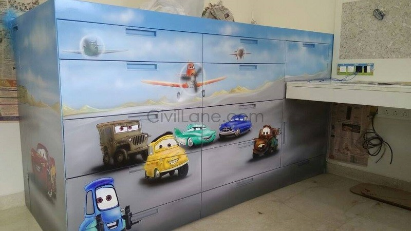 Kidsroom Sports Car Theme