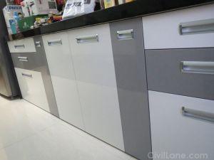 PU Finish Modular Kitchen
