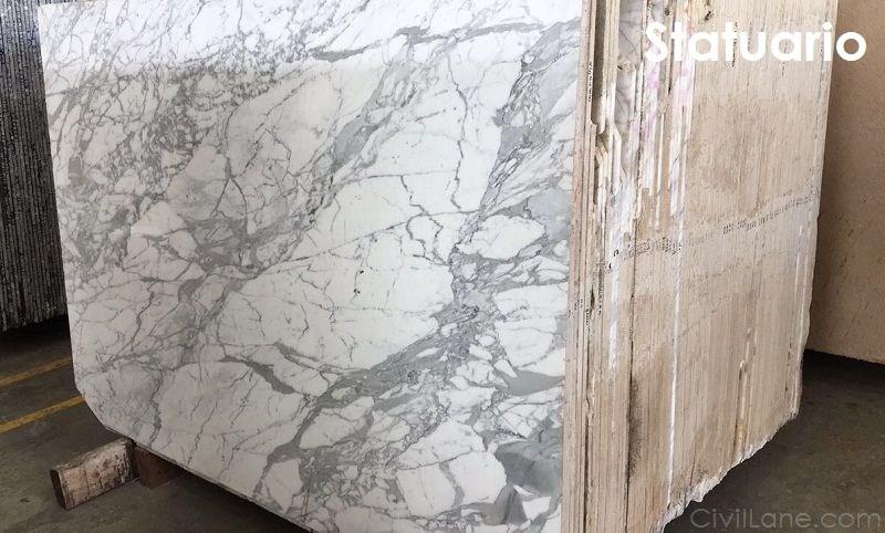Statuario Italian Marble Flooring