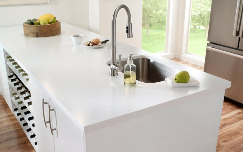 corian kitchen countertop india