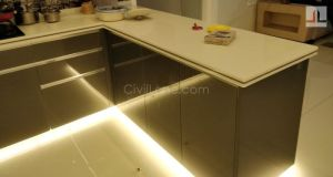 Nano White Kitchen Countertop