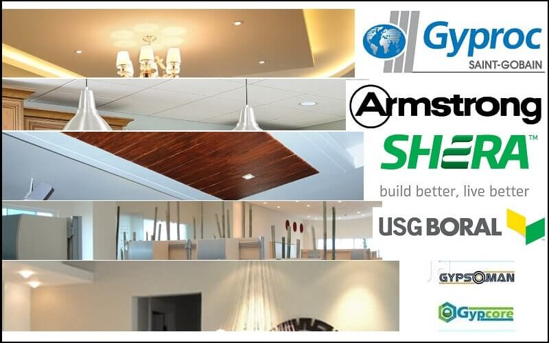 Top 5 False Ceiling Brands In India