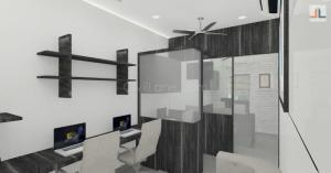 Small Office Space Design Mumbai 200 Square feet