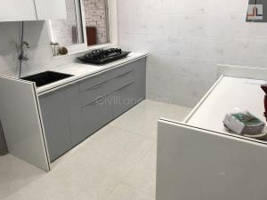Acrylic Modular Kitchen Design Grey White Color Kandivali East Mumbai (6)